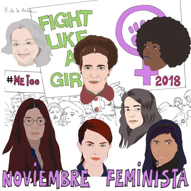Resultado de imagen de noviembre feminista 2018